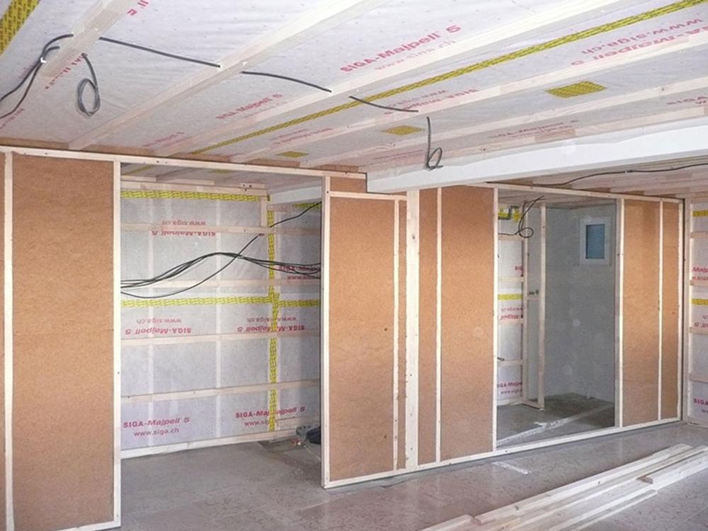 murs en laine de bois régulateur de vapeur